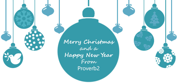 Merry Christmas from Proverb2